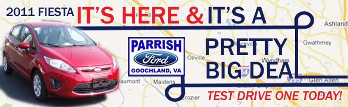 Fiesta Banner for Parrish Ford